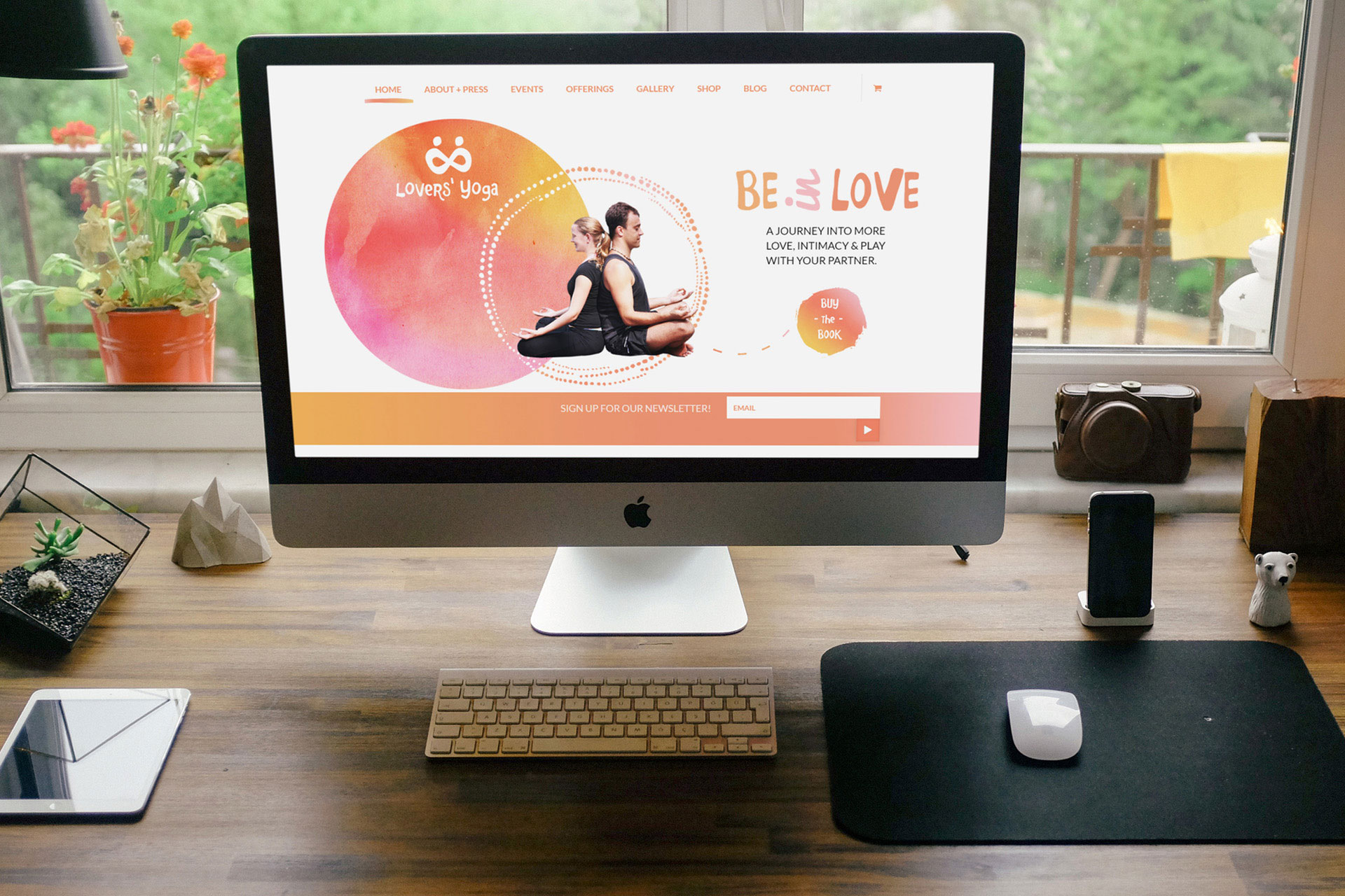 lovers-yoga - Graphic Design Portfolio