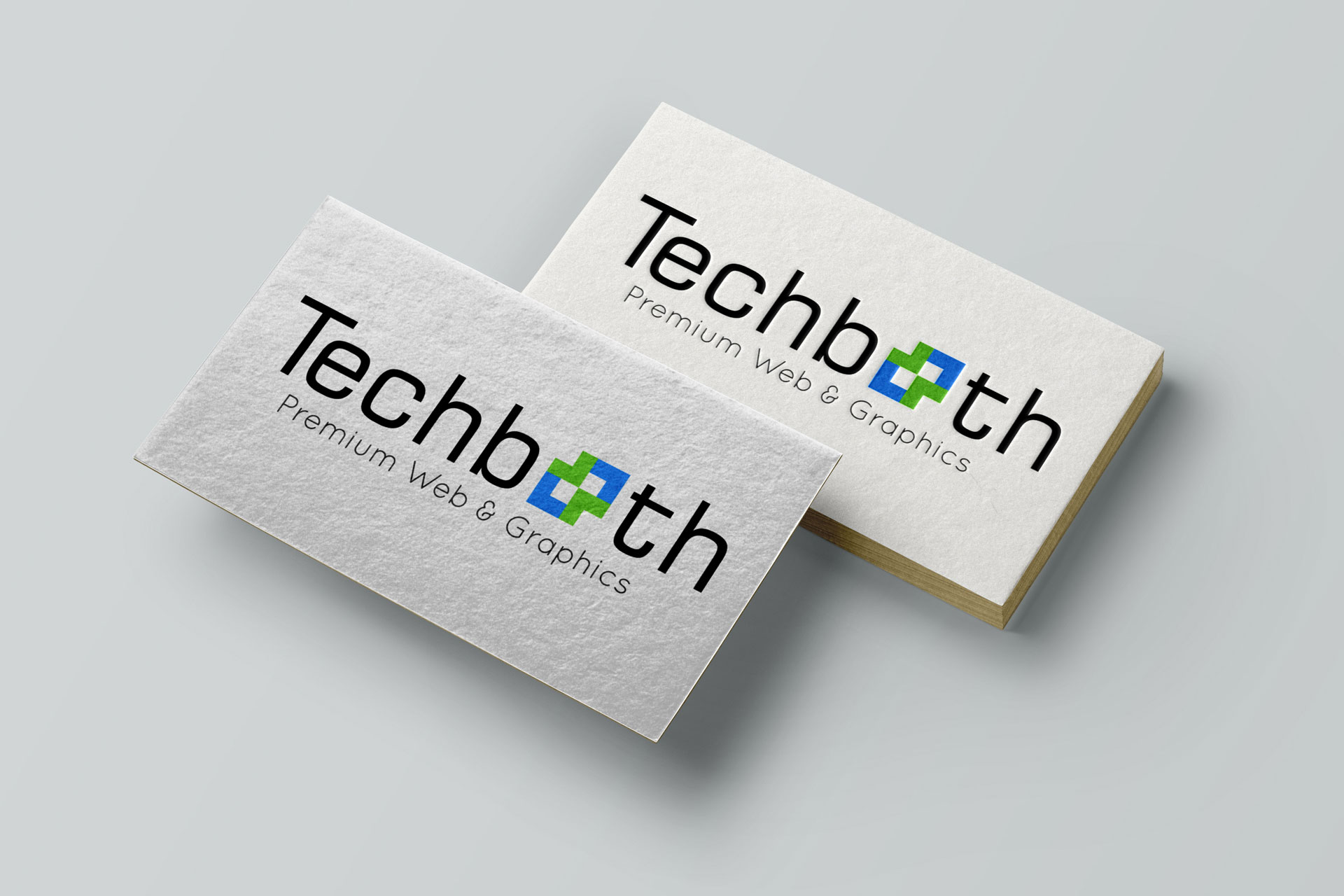 TechBooth - Graphic Design Portfolio