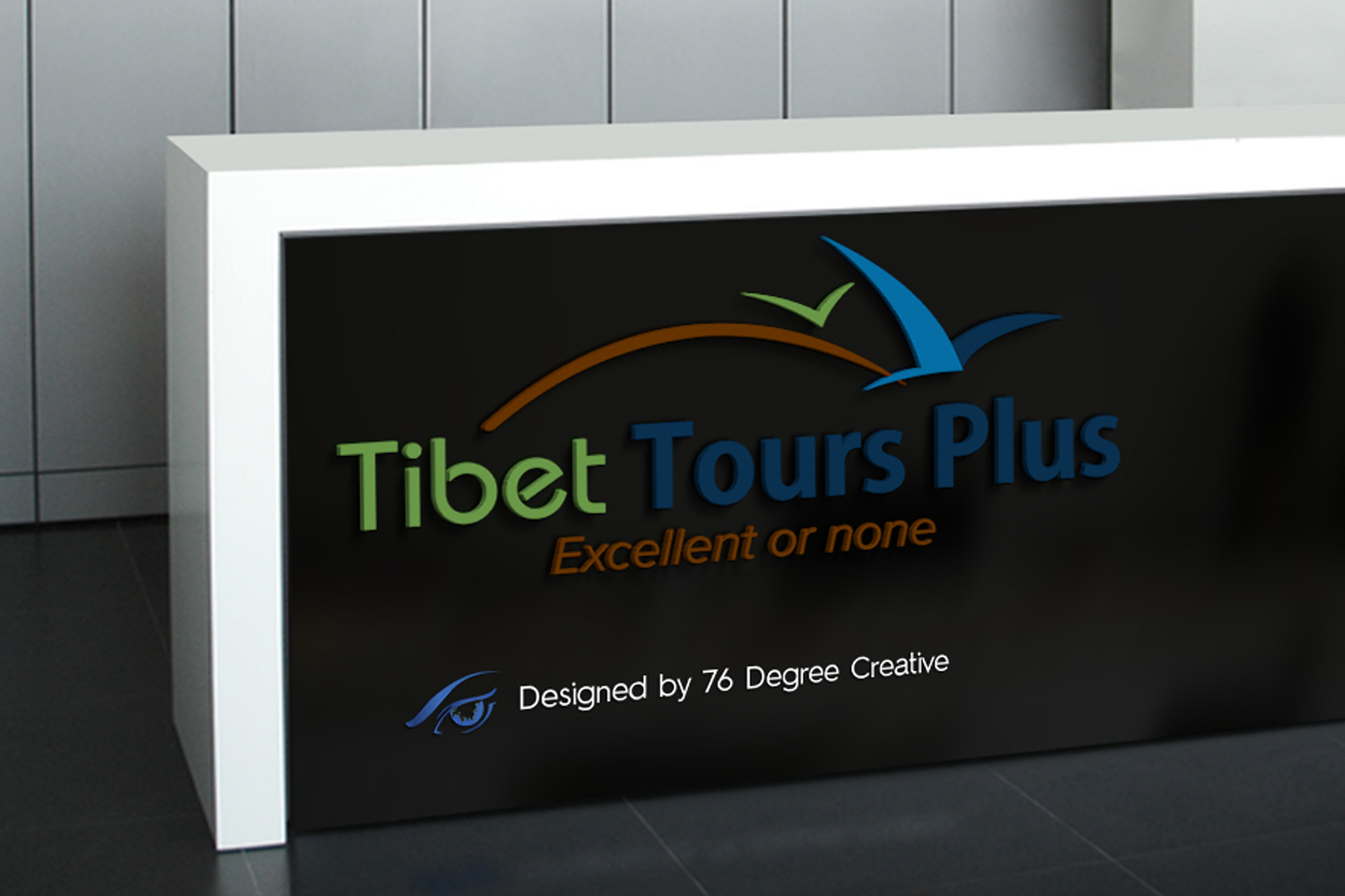 Tibet-Tours-Plus - Graphic Design Portfolio